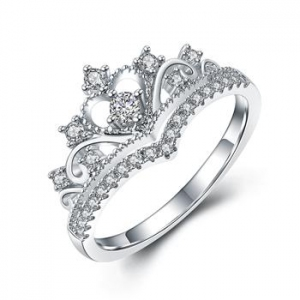AllenCOCO Crown AAA Zircon Rings 97642