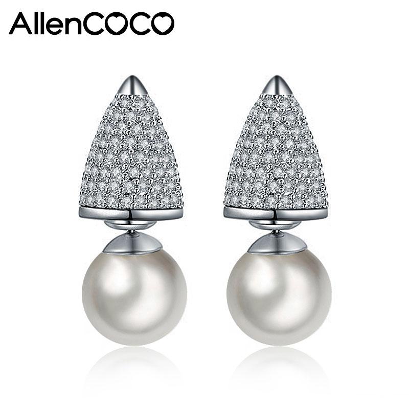 Allencoco pearl earring 208089002
