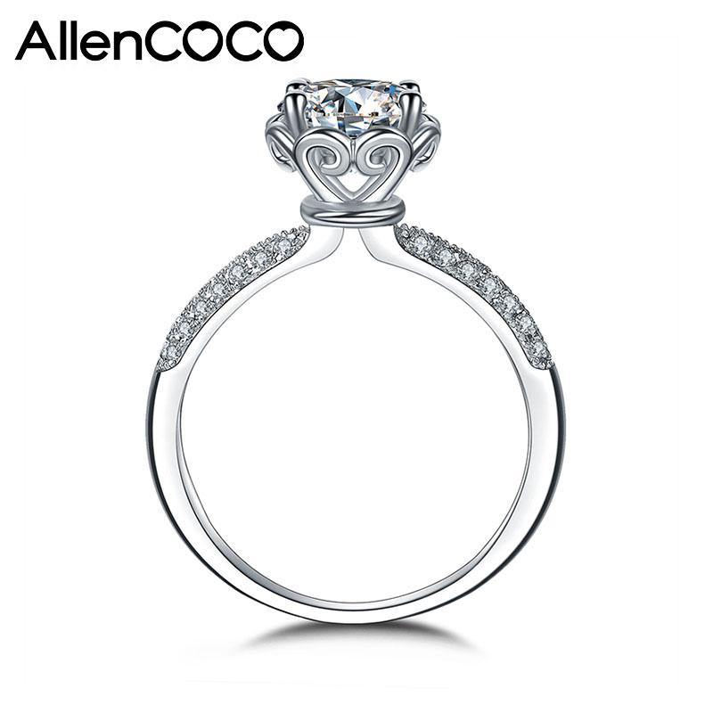 AllenCOCO CZ Heart Ring  97650