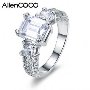Allencoco Zirconia Rings 93269