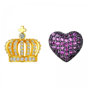 Allencoco apple crown earring  20863202