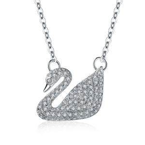 Allencoco swan necklace  30723902