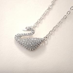 Allencoco swan necklace  30723902