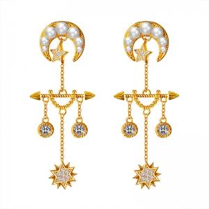 Allencoco baroque earring