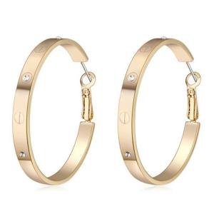 Alencoco hoop earring 67401