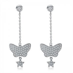 Allencoco butterfly earring  208636