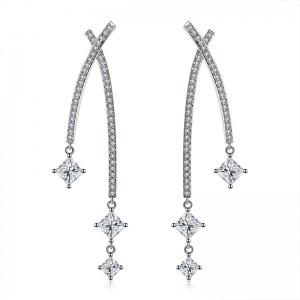 Allencoco zircon earring 208525