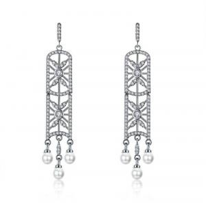 Allencoco pearl earring  208133