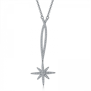 Allencoco star necklace  307237