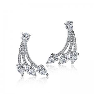Allencoco zircon earring  208143002