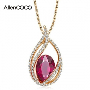 AllenCOCO Eternal Love Teardrop Swarovsk...