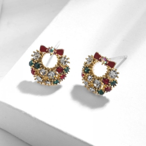 R.A Christmas bowknot earring  821647