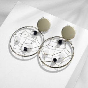 R.A circle earring  821546