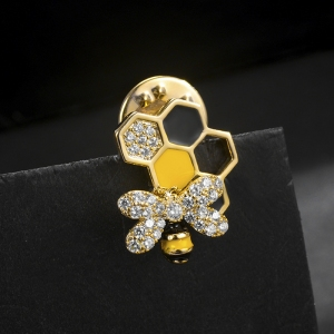 R.A rotary bee brooch  850422