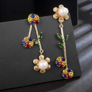 Allencoco zircon earring  208871