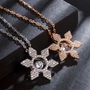 Rigant beating  heart star necklace  775...