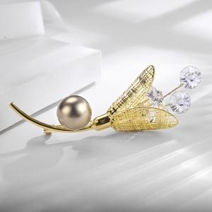 R.A pearl brooch  850488