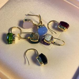 Crystal candies earring  002