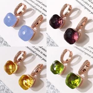 Crystal candies earring   005